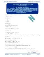 Khoảng đồng biến nghịch biến của hàm số - Bài tập tự luyện Toán 12 - Phần 2