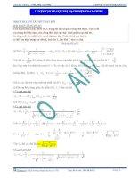 Luyện tập về cực trị trong mạch xoay chiều - Tài liệu Vật lý 12