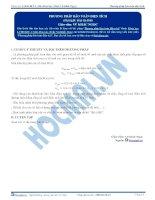 Phương pháp Bảo toàn điện tích - Tài liệu Hóa học 12