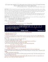 XÂY DỰNG HỆ THỐNG CÂU HỎI KIỂM TRA ĐÁNH GIÁ BÀI CLO THEO HƯỚNG PHÁT TRIỂN NĂNG LỰC TƯ DUY HỌC SINH