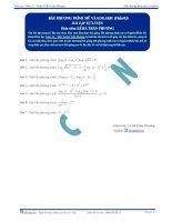 Bất phương trình Mũ và Logarit - Bài tập tự luyện Toán 12 -P3