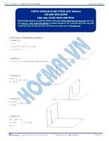 Chứng minh quan hệ vuông góc - Tài liệu Toán 12 - P1