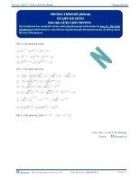 Phương trình mũ - Tài liệu Toán 12 - P4