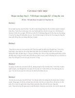 VĂN HAY TIỂU HỌC Đoạn văn hay lớp 2 - Viết đoạn văn ngắn Kể về ông bà em