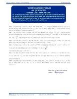 Thể tích khối Chóp -  Bài tập tự luyện Toán 12 - P1