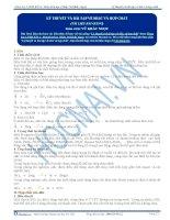 Lý thuyết và bài tập về silic và hợp chất của silic - Tài liệu Hóa học 12
