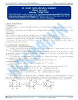 Lý thuyết trọng tâm về cacbohiđrat - Tài liệu Hóa học 12