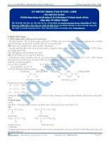 Lý thuyết trọng tâm về este – lipit - Tài liệu Hóa học 12