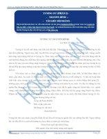 Phân tích Bài thơ Tương Tư của Nguyễn Bính