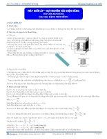 Máy biến áp, truyền tải điện năng - Tài liệu Vật lý 12