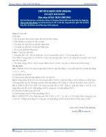 Thể tích khối Chóp -Tài liệuToán 12 - P3