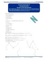 Khảo sát hàm số bậc ba - Tài liệu Toán 12