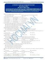 Lý thuyết và bài tập về phân bón Hóa học - Trắc nghiệm Hóa học 12