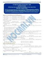 Lý thuyết trọng tâm về este – lipit - Trắc nghiệm Hóa học 12