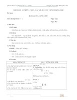 GIÁO ÁN ĐẠI SỐ 11 CƠ BẢN 2 CỘT CHUẨN NHẤT(File word tải về sẽ không bị lỗi font Mathtype)