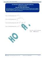 Bất phương trình Mũ và Logarit - Tài liệu Toán 12 -P1