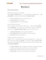 Từ vựng luyện thi nói IELTS theo chủ đề business