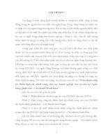 Luận văn Hoàn thiện công tác thẩm định tài chính trong cho vay doanh nghiệp vừa và nhỏ tại Ngân hàng Quân Đội – Chi nhánh Minh Khai