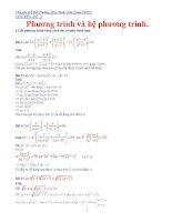Chuyên đề bồi dưỡng học sinh giỏi toán THCS