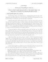 HOÀN THIỆN TRIỂN KHAI CHIẾN LƯỢC THÂM NHẬP THỊ TRƯỜNG CỦA CÔNG TY CƠ KHÍ TRƯỜNG XUÂN