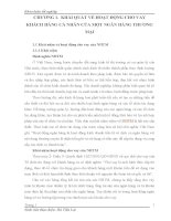 THỰC TRẠNG HOẠT ĐỘNG CHO VAY KHÁCH HÀNG CÁ NHÂN CỦA NGÂN HÀNG THƯƠNG MẠI CỔ PHẦN QUỐC TẾ - CHI NHÁNH HUẾ