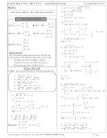 PT, BPT, Hệ phương trình Vô tỉ Luyện thi Đại học - Cao Hoàng Nam