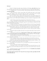 Bài tập về thuế TNDN 6.2015