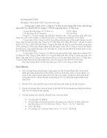 Bài tập Thuế  thu nhập Doanh nghiệp - Ha