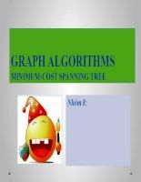 Xử lý song song tìm đường đi ngắn nhất GRAPH ALGORITHMS MINIMUM-COST SPANNING TREE