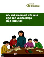 Đổi mới đánh giá kết quả học tập và rèn luyện của học sinh (tài liệu dành cho cha mẹ học sinh)