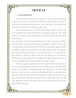 SKKN Một vài biện pháp tổ chức tốt Hoạt Động Vui Chơi cho trẻ