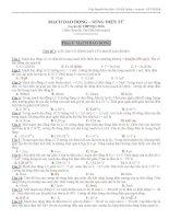 Chuyên đề DAO ĐỘNG ĐIỆN TỪ có phân dạng và đáp án