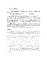 Bài tập Thuế  thu nhập Doanh nghiệp