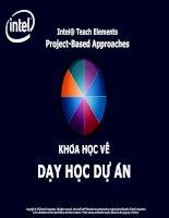 Module 3 - Tài liệu tập huấn dạy học dự án Intel