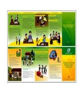 Tài liệu Sự tham gia của cộng đồng vào công tác giáo dục