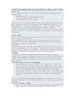 10 lỗi ngữ pháp thường gặp khi học tiếng anh cơ bản