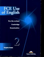FCE Use Of English 2 Student Book