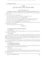 Bài giảng Kế toán thuế - Chương 3 - Kế toán thuế tiêu thụ đặc biệt