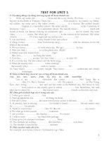Tổng hợp bài tập tiếng Anh lớp 7 c ả năm