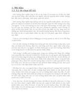 SKKN MỘT SỐ BIỆN PHÁP GIÁO DỤC TRẺ 5 TUỔI Ý THỨC BẢO VỆ MỘT TRƯỜNG