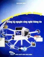 Phương tiện truyền thông trong kỹ nguyên công nghệ thông tin
