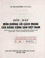 Hỏi - đáp môn đường lối cách mạng của Đảng cộng sản Việt Nam