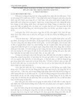 SKKN MỘT SỐ BIỆN PHÁP ĐẢM BẢO VỆ SINH AN TOÀN THỰC PHẨM, NÂNG CAO BỮA ĂN CHO TRẺ  TRONG TRƯỜNG MẦM NON