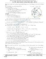 80 bài toán hình 9 hay ( có lời giải )
