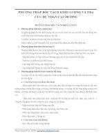 PHƯƠNG PHÁP BÓC TÁCH KHỐI LƯỢNG VÀ TRA CỨU DỰ TOÁN CẦU ĐƯỜNG