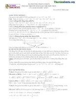 Đồ thị hàm số và các ứng dụng - phần 2 - ViettelStudy