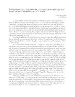 CÁC HÌNH THỨC ĐẤU TRANH VŨ TRANG CÓ TỪ TRƯỚC ĐỘI VIỆT NAM TUYÊN TRUYỀN GIẢI PHÓNG QUÂN 22-12-1944