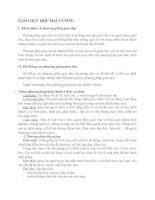 PHƯƠNG PHÁP GIÁO dục 1