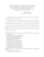 NHỮNG ANH HÙNG LỰC LƯỢNG VŨ TRANG NHÂN DÂN VIỆT NAM TRONG SỰ NGHIỆP ĐẤU TRANH GIỮ GÌN NỀN ĐỘC LẬP CỦA TỔ QUỐC TRONG THẾ KỶ XX LÀ NGƯỜI TÀY, NÙNG Ở CAO BẰNG