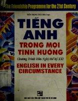 Tiếng Anh trong mọi tình huống
